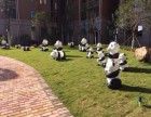 圆滚滚人气熊猫出租熊猫模型出租啦