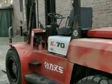 卖二手叉车看质量好坏半价处理新5吨3吨合力叉车价格