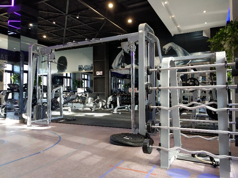 通州区翠福园附近的健身房