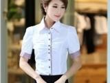 供应外贸尾单女式短袖衬衫 精品女装 时尚衬衫 品牌折扣女装批发