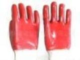 大量供应 劳保用品 浸胶手套 PVC手套 防护手套