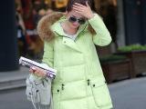 2015厂家直销秋冬新款女式中长款韩版修身棉衣羽绒棉服棉袄外套