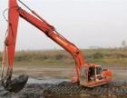 湿地挖机出租沼泽地挖机租赁(新乡市卫辉市)