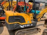 福建私人二手微型挖掘机 2万左右的1.5吨小挖机