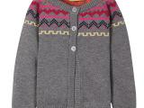 春秋毛衣新款麦西西女童纯棉 儿童毛衣韩版针织衫线衣外套