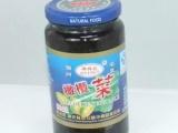 供应潮汕特产 玻璃瓶装纯正潮汕风味橄榄菜
