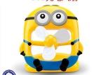 2014爆款小黄人USB充电风扇 神偷奶爸LD135迷你台式风扇现货供应