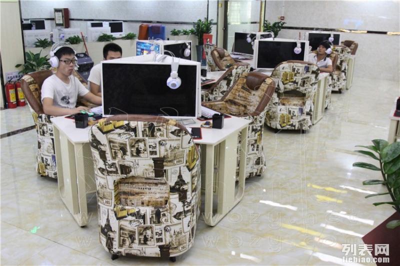 东莞太空城网吧东莞网吧桌椅网吧沙发旭升家具供应