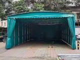 五无锡兴盛达户外用品专业定制各类推拉雨篷移动帐篷