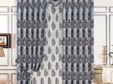 厂家直销定制高档遮光窗帘现代简约客厅卧室窗帘面料