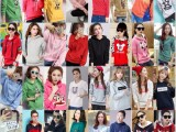 春装新款韩版潮宽松显瘦连帽套头学生休闲卫衣外套女装 实地考察