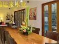 实木大板餐桌办公桌老板桌简约会议桌大班台画案