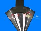 地下停车场LED线槽灯可走线铝合金6米LED桥架灯