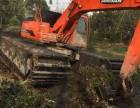 郑州市二七区清淤挖掘机出租水陆两用挖掘机出租价格