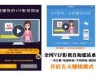 广州深圳东莞全网VIP影视自助建站系统搭建价格联系电话