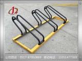 六盘水卡位自行车停车架,非机动车停放架金玺交通