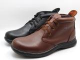 2013冬季高端真皮加绒日常休闲男鞋棉鞋马丁短靴英伦男皮鞋批发