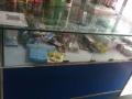九成新美妆玻璃柜台