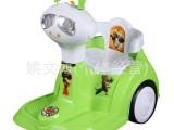 火爆款厂家直销双驱室内儿童电动童车