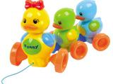 宝宝学步拉线音乐小鸭子 儿童婴儿早教益智拖拉欢乐鸭子玩具