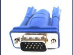 供应高品质DB15vga信号视频线 订做各种规格VGA信号视频线