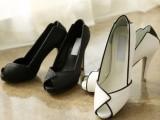 2014欧洲大牌韩国代购同款头层牛皮女鞋鱼嘴鞋时尚潮流单鞋可代发