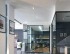 广州厂家直销办公室铝合金玻璃隔断 高隔间 双玻百叶