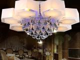 厂家批发欧式水晶吸顶灯 LED水晶灯 卧室灯 客厅灯饰梦立方灯具