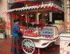 商业广场步行街大型超市售卖钵仔糕摊点木制摆货车厂家直销可定制