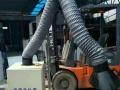 高温烤漆房塑粉回收房铁艺高温固化炉环保烤漆房