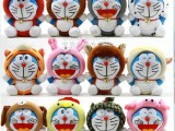 十二生肖哆啦A梦公仔多啦A梦全套12生肖机器猫毛绒玩具送女生礼物