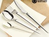 欧式加厚西餐餐具牛排刀叉套装 创意可爱不