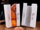 厂家防水防油食品纸袋高低口外卖包装袋子牛皮纸袋定做