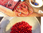 春节之旅:丹霞奇石—望夫石、天柱石参加自制红豆饰品