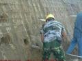 基坑边坡支护锚杆挂网喷浆喷锚护坡土钉墙挡土墙加固