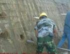基坑边坡支护锚杆锚索挂网喷浆喷锚土钉墙砌石挡土墙护坡施工