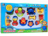 品牌热卖贝乐康 婴儿摇铃10件套装0-1岁宝宝玩具儿童益智启蒙玩
