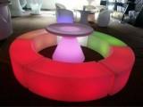 杭州宴会椅沙发凳租赁.长条沙发发光家具租赁折叠桌椅办公家具