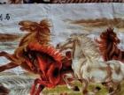 八匹马手工十字绣八匹马马到成功