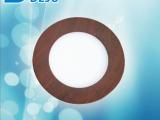 装修工程装饰用品led天花灯4w欧歌红木纹暗装平板灯led射灯批