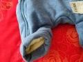 连体棉衣,哥哥在沈阳买的,因为孩子太胖不够大