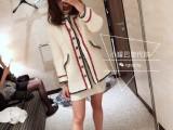 高仿香奈儿金扣麻花纹针织衫毛衣,质量好的多少钱