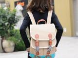 爱情雨同款包允儿夏娜背包双肩包旅行包2014新款帆布包包