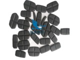 厂家定制 防撞海绵胸背 海绵贴布热压护具一体成型
