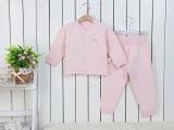 爱贝衣冬季新款无骨缝制宝宝内衣纯棉婴儿打底衣儿童睡衣QK1401
