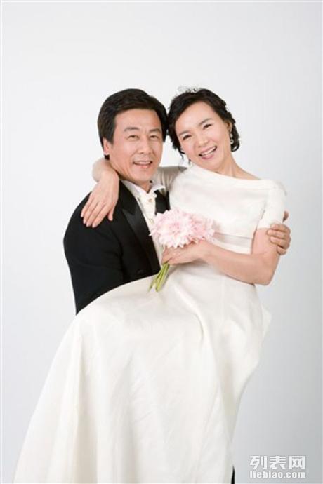 中老年结婚纪念照 底片全送~