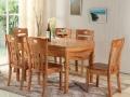 天津简约实木餐桌椅 休闲实木餐桌椅 高级实木餐桌椅