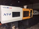 出售二手注塑机韩国进口宇进注塑机110T高精密高速注塑机