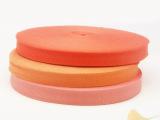 供应优质100%全棉织带 20mm彩色人字纹棉带 服饰箱包辅料厂