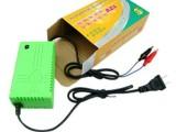 厂家批发  12V2A充电器摩托车电瓶蓄电池鳄鱼夹子充电器外贸出